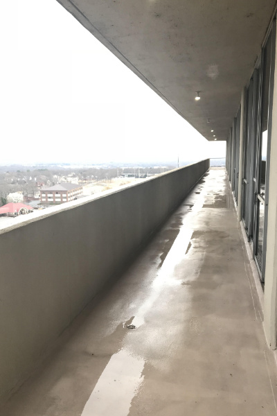 Multi-Unit balcony after Performance Softwash Cleaning